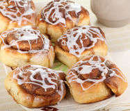 Homemade Cinnamon Rolls Royalty Free Stock Photography