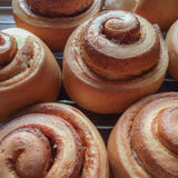 Homemade Cinnamon Rolls Royalty Free Stock Images