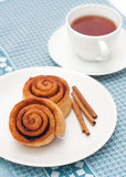 Homemade cinnamon rolls Stock Image