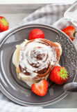 Homemade cinnamon rolls Stock Photography