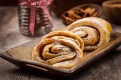 Homemade cinnamon rolls Royalty Free Stock Photography