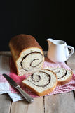Homemade cinnamon swirl bread Royalty Free Stock Photos