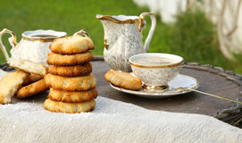 Homemade cocos biscuits Stock Photo