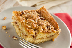 Homemade Coffee Cake with Cinnamon Stock Photography