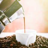Homemade coffee Stock Photos