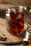 Homemade Cold Brew Coffee Stock Photography