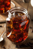 Homemade Cold Brew Coffee Stock Images