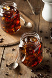 Homemade Cold Brew Coffee Royalty Free Stock Images
