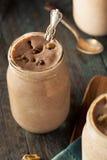 Homemade Cookie Dough Milkshake. Ready to Eat Stock Images