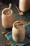 Homemade Cookie Dough Milkshake. Ready to Eat Stock Photography