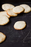 Homemade cookie with lemon chip Stock Photo