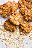 Homemade cookie with oat flakes Royalty Free Stock Image