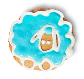 Homemade Cookies Blue Sheep Royalty Free Stock Image