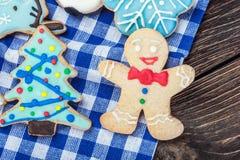 Homemade cookies for Christmas Stock Image