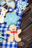 Homemade cookies for Christmas Stock Photography