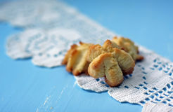 Homemade cookies closeup Stock Photo