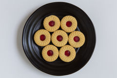 Cookies on White Background Royalty Free Stock Photography