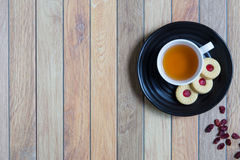Cookie for Tea Break : Background Stock Photography