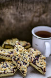 Homemade cookies, grated pie Royalty Free Stock Images