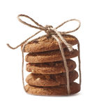 Homemade cookies isolated on white background Stock Photos