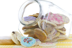 Homemade cookies in Jar Royalty Free Stock Image