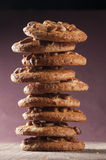 Homemade cookies with nuts Royalty Free Stock Photo