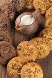 Homemade cookies with nuts Stock Photos