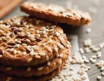 Homemade cookies on paper napkin Stock Photo
