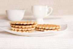 homemade cookies - pastry and sweet food styled concept royalty free stock photography