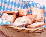 Homemade cookies. Some fresh homemade cookies with sugar Stock Photography