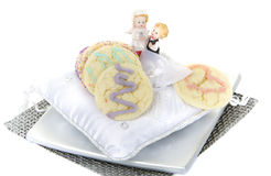 Homemade Cookies Wedding Day Treats Royalty Free Stock Photography