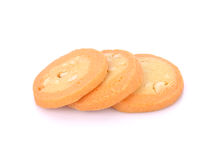 Homemade cookies on white background. Homemade cookies  on white Royalty Free Stock Photo