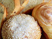 Homemade cooking made from whole wheat and grains with breads Royalty Free Stock Photography