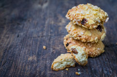 Homemade cornflakes cookies Royalty Free Stock Photo