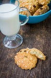 Homemade cornflakes cookies Royalty Free Stock Photography