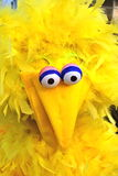 Homemade Costume resembling Big Bird Stock Images