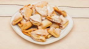 Homemade cottage cheese cookies Stock Image
