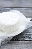 Homemade cottage cheese Stock Images