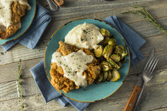 Homemade Country Fried Steak Royalty Free Stock Image