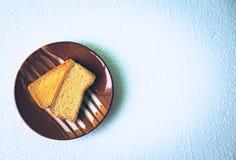 Homemade Crackers Stock Photo