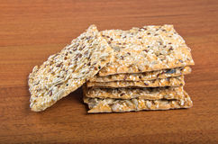 Homemade crackers Royalty Free Stock Photography