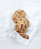 Cranberry Cookies Royalty Free Stock Photos