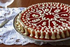Homemade cream pie Royalty Free Stock Photos