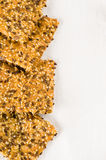 Homemade crisp bread gluten-free Stock Photography