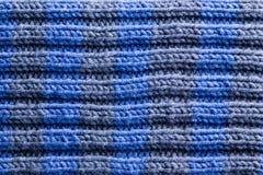 Homemade Crochet with Horizontal Ridge Lines Royalty Free Stock Photography