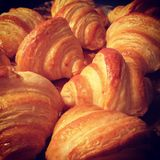 Homemade croissants Royalty Free Stock Photo