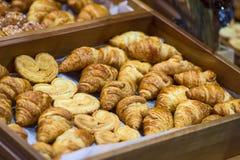 Homemade Croissants. Stock Photo