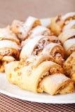 Homemade Croissants Stock Photography