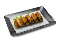 Homemade croquettes Stock Photo
