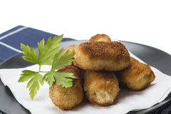 Homemade croquettes Royalty Free Stock Images